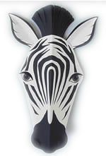 Zebra Mask Template